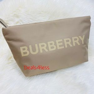 Burberry Pouch Cosmetic Bag Makeup Case Travel NEW